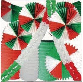 kit decor rouge blanc vert allez litalie