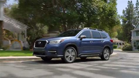 row subaru ascent  world debut  los