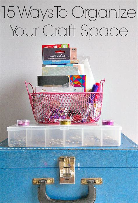 15 Ways To Organize Your Craft Supplies  Indie Crafts. Home Office Decor. Shelf Decoration. Room For Rent Santa Monica. Decorative Citronella Candle Holders. Storage Rooms. Interior Design Ideas For Living Room. Decorative Window Bars. Bargain Party Decorations