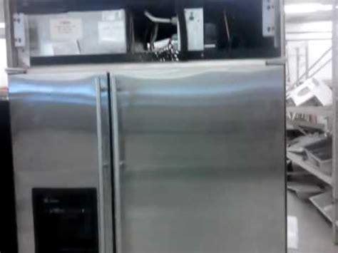 ge monogram  built  side  side refrigerator youtube