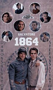 Wallpaper - Damon e Stefan | Vampire diaries funny ...