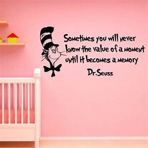 dr seuss wall decal quote sometimes you will by fabwalldecals With good look dr seuss quotes wall decals