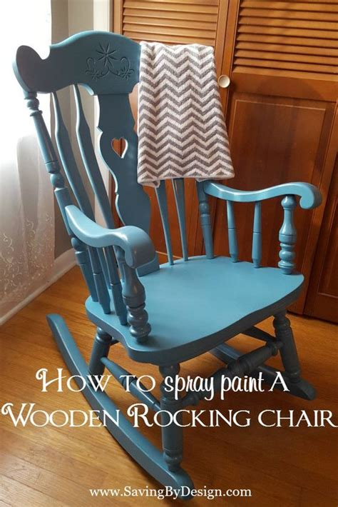 rocking chairs colors and how to spray paint on pinterest