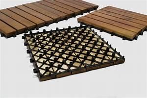 Bois Exotique Pour Terrasse : dalles pour terrasse en bois exotique acacia ~ Dailycaller-alerts.com Idées de Décoration