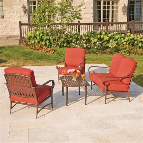 25 photo of metal patio furniture sets