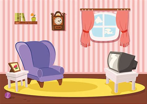 Royalty Free Living Room Clip Art, Vector Images