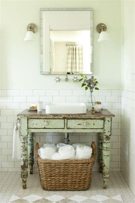 vintage retro bathroom decor meuble salle de bains pas cher 30 projets diy
