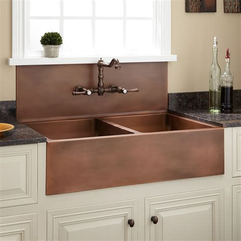 country farm kitchen sinks sinks interesting high back farmhouse sink high back