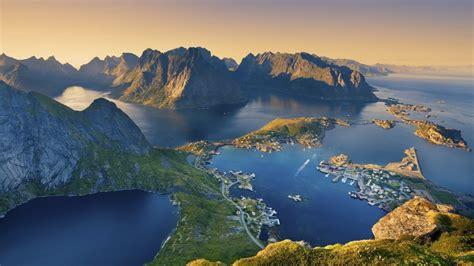 Lofoten Island from Norway - Landscape wallpaper