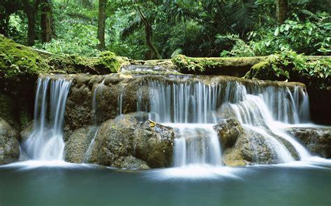 Tropical Waterfall Thailand Desktop Hd Wallpapers ...