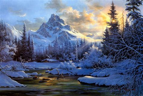 winter, Snow, Landscape, Nature Wallpapers HD / Desktop ...