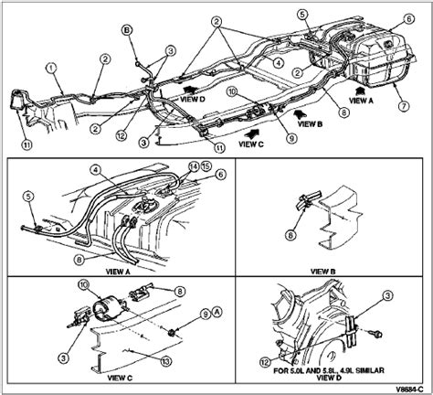 2006 F150 Fuel Line Diagram by 96 Gas Tank Vent Line Replacement Ford Bronco Forum