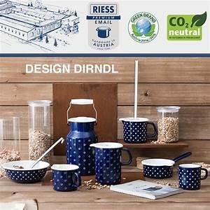 Riess Emaille Topf : riess emaille kasserolle mit deckel 20 cm 2 l topf ~ Whattoseeinmadrid.com Haus und Dekorationen