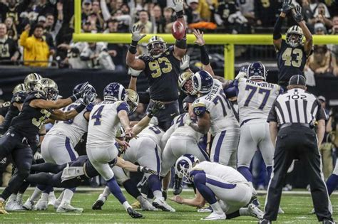 nfl zuerlein field goal sends rams  super bowl