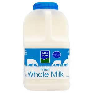 chocolate basket dale farm fresh whole milk 1 pint 568ml whole milk