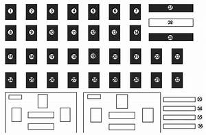 Renault Captur  2017  - Fuse Box Diagram