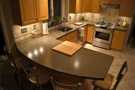 kitchens island kitchen concrete countertop concrete countertops design