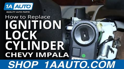How Replace Ignition Lock Cylinder Chevy Impala