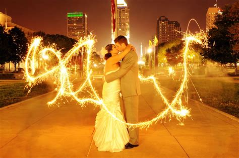 Vip Wedding Sparklers Writing With Wedding Sparklers