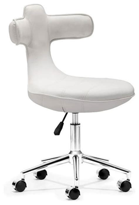 cozy office chair white modern office chairs atlanta