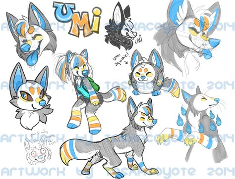 Umi Kitsune-sketchpage Commission
