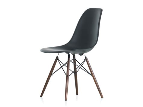 vitra side chair buy the vitra dsw eames plastic side chair maple base at nest co uk