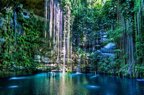 Ik Kil Cenote Yucatán Mexico 10 Pic ~ Awesome Pictures