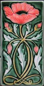 http://www verdanttileco com/images/6x12 Inch Art Nouveau