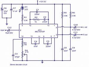 Stereo Decoder Circuit Diagram