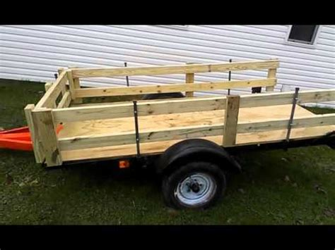 Convert Boat Trailer To Utility by 25 Converted Boat Trailer