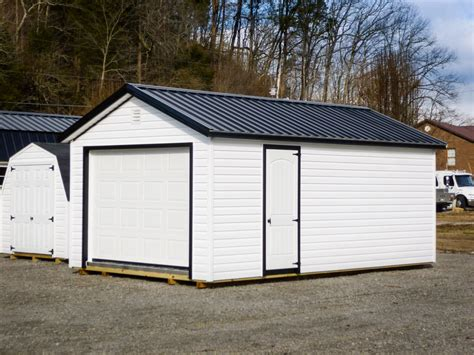 Single-Car Prefab Garages in KY & TN   Esh's Utility Buildings