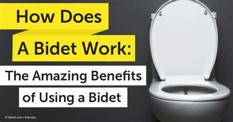 How A Bidet Works how does a bidet work the amazing benefits of using a bidet