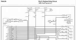 Diagram  93 Ford Taurus Sho Wiring Diagram Full Version