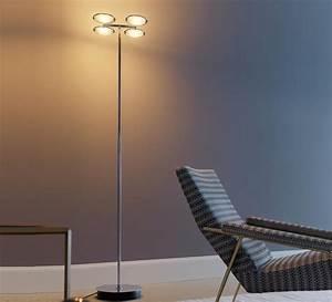 floor light nobi chrome h184 200cm fontana arte With simpson 4 light floor lamp chrome 200cm