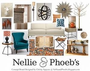 Nellie, U0026, Phoeb, U0026, 39, S, Design, Concept, Board, No, 1