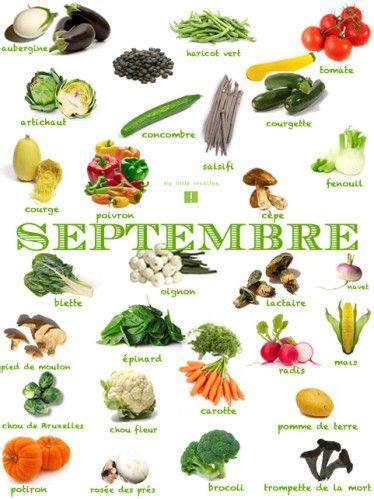 légumes de septembre fruits l 201 gumes poissons fromages frais 192 consommer en