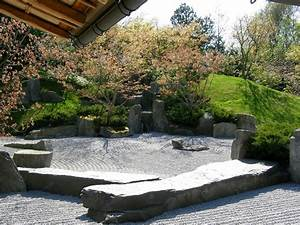 Pflanzen Für Japanischen Garten : z une f r kleine zen g rten der garten im japanischen stil ~ Lizthompson.info Haus und Dekorationen