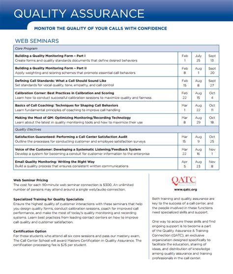 100 call center quality assurance 28 images