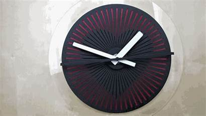 Wall Clocks Illusion Awesome Optical Heart Seconds
