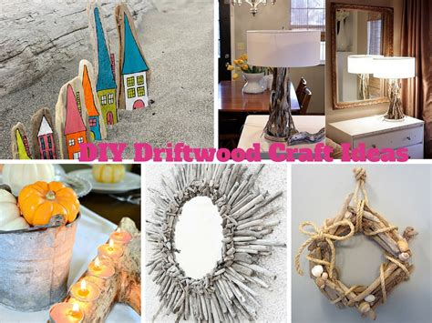 easy diy driftwood craft ideas  decorate  house