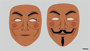 Guy Fawkes Masks Designed For People Of Different ...