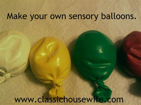 how to make your own pops how to make your own sensory balloons or stress balls classic housewife