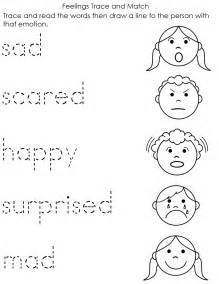 A Child's Place: Feelings Worksheet