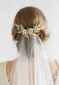 floral wedding hair comb tania maras bespoke