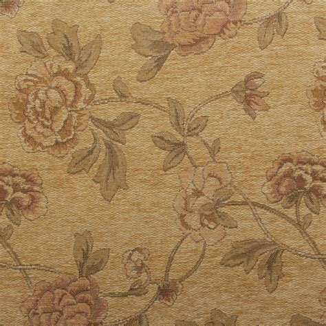 floral distressed vintage traditional tapestry curtain