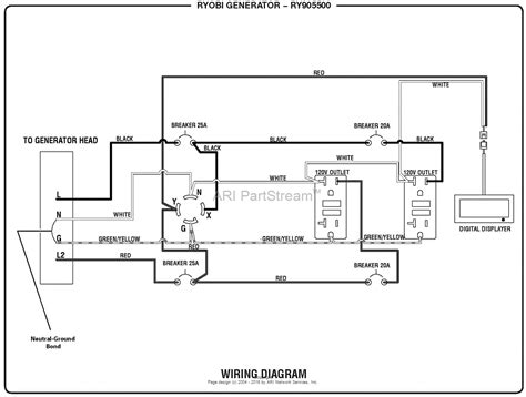 homelite ry905500 inverter generator mfg no 090930295