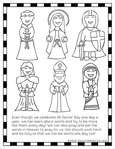 all saints day printables and worksheet packet the 159 | cb1f45950d43ca5c0254193acc7928f1