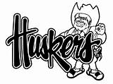 Nebraska Cornhuskers Husker Herbie Decal Coloring Huskers Pages Items Football Decals Silhouette Similar Template Sketch Truck Ordinary Everything Sticker Window sketch template