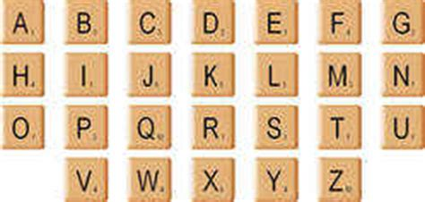 digi scrabble tiles individual png download
