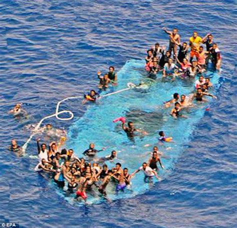 Boat Sinking Libya by Second Migrant Boat Overturns Of Libya Coast As Italy